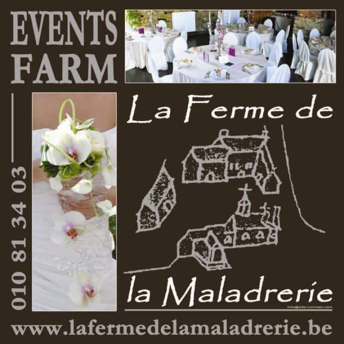 mariage de r ve la ferme de la maladrerie ferme. Black Bedroom Furniture Sets. Home Design Ideas