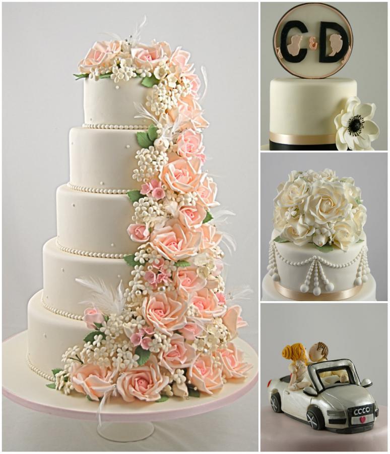 The French Cake Company crée des pièces montées de mariage sur ...
