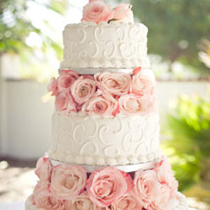 pink and white rose wedding cake mariage de r 234 ve traiteurs 18557